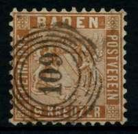 BADEN Nr 15a Gestempelt X7449F2 - Baden