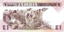 ZAMBIA P. 23a 1 K 1980 UNC - Zambia