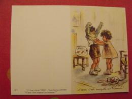 Germaine Bouret. Illustratrice. Dessin Calendrier De Poche 1988 - Calendriers