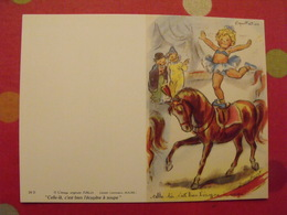 Germaine Bouret. Illustratrice. Dessin Calendrier De Poche 1988 - Calendars