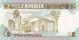ZAMBIA P. 24c 2 K 1988 UNC (2 Billets) - Zambie