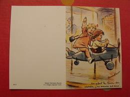 Germaine Bouret. Illustratrice. Dessin Calendrier De Poche 1986 - Calendars