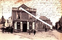 """BONSECOURS - Rue De La Sapinière - Avec Restaurant """"A L'Oeillet"""" Logement - Enseigne De La Porte """"Café David-Brasseur"""" - Péruwelz"""