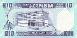 ZAMBIA P. 26e 10 Z 1988 UNC - Zambie