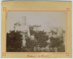 Lot De 4 Photos. Château De Chinon. Bords De La Vienne. - Photos