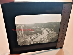 Photo Sur Plaque De Verre Début XXe - DINAN - La Vallée De La Rance - Bretagne Cotes D'Armor - Plaques De Verre