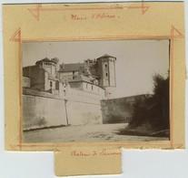 2 Photos. Château De Saumur. Mairie D'Orléans. - Photos