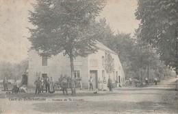 Gare De Bellefontaine (Tintigny) Avenue De St Vincent Super Animée Circulé En 1907 - Tintigny