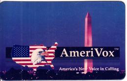 USA - Amerivox Prepaid Card - Stati Uniti