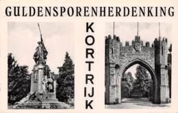 KORTRIJK - Guldensporenherdenking - Kortrijk