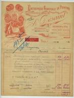 Facture. Entrerise Générale De Peinture. A. Desaint. Teinture. Dorure. Miroiterie. Vitrerie. Papiers Peints. Paris. 1931 - France