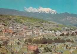 BOLIVIA. VISTA PANORAMICA ILLIMANI, LA PAZ. LOPEX CORDERO ED. CIRCULEE 1973 A L'ARGENTINE - BLEUP - Bolivie