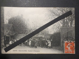76 - Le Havre - Sanvic - CPA - Ecole Des Filles - Pendant La Récréation - B.E - 1910 - - Le Havre