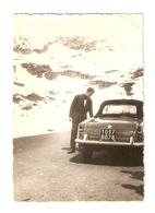 FO--00048-- FOTO ORIGINALE -CAR-AUTO-PROBABILMENTE-ALFA ROMEO GIULIETTA SPIDER 1955/1962 - Coches