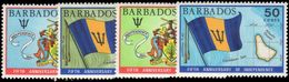 Barbados 1971 Independence Anniversary Unmounted Mint. - Barbados (1966-...)