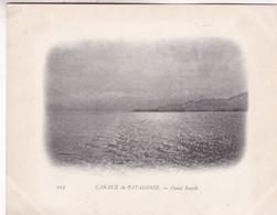 CANAUX DE PATAGONIE, CANAL SMYTH. CIRCA 1900s - BLEUP - Chili