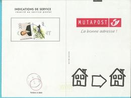 "MUTAPOST ""LA BONNE ADRESSE"" / DEMENAGEMENT (124M) 2599+2697 Met Stempel HUY 1 - 1981-1990 Velghe"