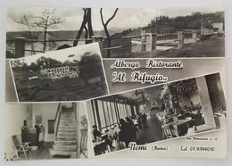 """NEMI (ROMA) - ALBERGO RISTORANTE """" AL RIFUGIO """" - Specialità Romane E Bolognesi  Vg - Altre Città"""