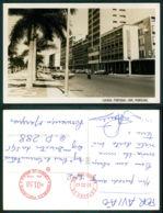 PORTUGAL - ANGOLA   [ 0705 ] - LUANDA - AVENIDA MARGINAL OLD CARS AUTOMOBILES VOITURES FORD TAUNUS 12M 17M - Angola