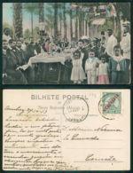 PORTUGAL - ANGOLA   [ 0712 ] - ALMOÇO OFERECIDO POR CAMPOS VALDEZ  NA FAZENDA PATRICIO - NOVO REDONDO - Angola