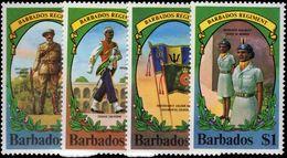 Barbados 1980 Barbados Regiment Unmounted Mint. - Barbados (1966-...)