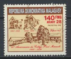 °°° MADAGASCAR - Y&T N°1050 - 1991 °°° - Madagascar (1960-...)