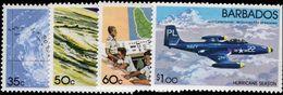 Barbados 1981 Hurricane Season Unmounted Mint. - Barbados (1966-...)