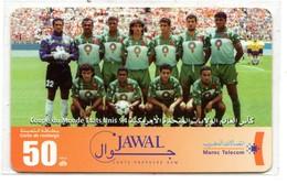 MAROC PREPAYEE JAWAL MAROC TELECOM FOOT Coupe Du Monde ETATS UNIS 94 - Maroc