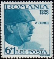 ROMANIA - Scott #B115 King Carol II / Mint H Stamp - 1918-1948 Ferdinand, Charles II & Michael