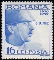 ROMANIA - Scott #B117 King Carol II / Mint H Stamp - 1918-1948 Ferdinand, Charles II & Michael