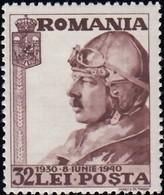 ROMANIA - Scott #B118 King Carol II / Mint H Stamp - 1918-1948 Ferdinand, Charles II & Michael