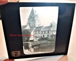 Photo Sur Plaque De Verre Début XXe - DREUX - La Blaise - Maison Peinture / Vitrerie - Eure Et Loir - Plaques De Verre
