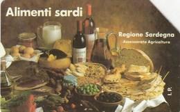 SCHEDE TELEFONICHE SIP ITALIA-ALIMENTI SARDI - USATA-- - Italia