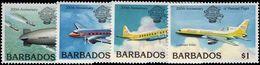 Barbados 1983 Bicentenary Of Manned Flight Unmounted Mint. - Barbados (1966-...)