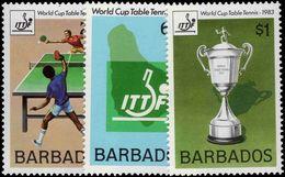 Barbados 1983 Table Tennis Unmounted Mint. - Barbades (1966-...)