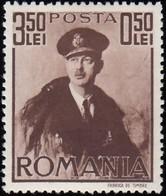 ROMANIA - Scott #B122 King Carol II / Mint H Stamp - 1918-1948 Ferdinand, Charles II & Michael