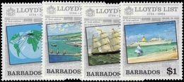 Barbados 1984 Lloyds List Unmounted Mint. - Barbades (1966-...)