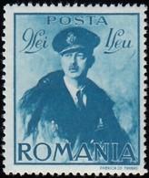 ROMANIA - Scott #B125 King Carol II (*) / Mint H Stamp - 1918-1948 Ferdinand, Charles II & Michael