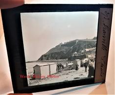 Photo Sur Plaque De Verre Début XXe - GRANVILLE - Plage & Casino - Manche Normandie - Glass Slides