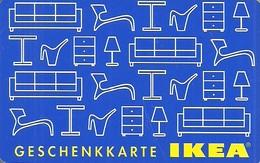 IKEA * FURNITURE STORE * SWEDEN * SWEDISH * Ikea 2003 01 De A2 * Germany - Gift Cards