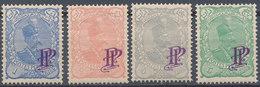 Stamp Iran MIDLE EAST 1899-1903 POSTES PERSANES SHAH QAJAR POSTES PROVISOIRE OVPNTS MNH VF Lot12 - Iran