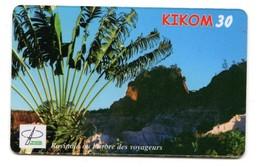 MADAGASCAR RECHARGE TELECOM MALAGASY KIKOM Ravipala L'arbre Des Voyageurs - Madagascar