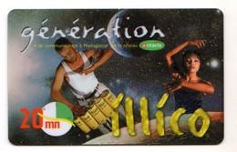 MADAGASCAR RECHARGE ILLICO Génération Année 2005 - Madagaskar