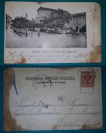 Cartolina Roma - Olmata E Chiesa Dei Cappuccini. Viaggiata Primi 900 - Altre Città