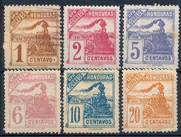 Stamps Honduras 1898  Mint Lot9 - Honduras