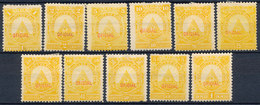 Stamps Honduras  Mint Lot15 - Honduras