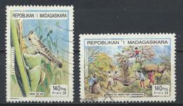 °°° MADAGASCAR - Y&T N°1425/27 - 1995 °°° - Madagascar (1960-...)
