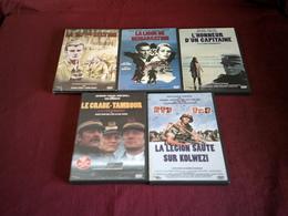 PROMO   COFFRET  5 DVD  JOE 8 ° 317 Em SECTION / L'HONNEUR D'UN CAPITAINE / LE CRABE TAMBOUR / LA LIGNE DE DEMARCATION / - DVD