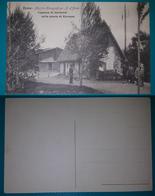 Cartolina Roma - Mostra Etnografica - Piazza D' Armi. Capanna Di Garibaldi Nella Pineta Di Ravenna. - Mostre, Esposizioni