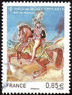 Oblitération Cachet à Date Sur Timbre De France N° 5157 Joachim Murat, Roi De Naples - Used Stamps
